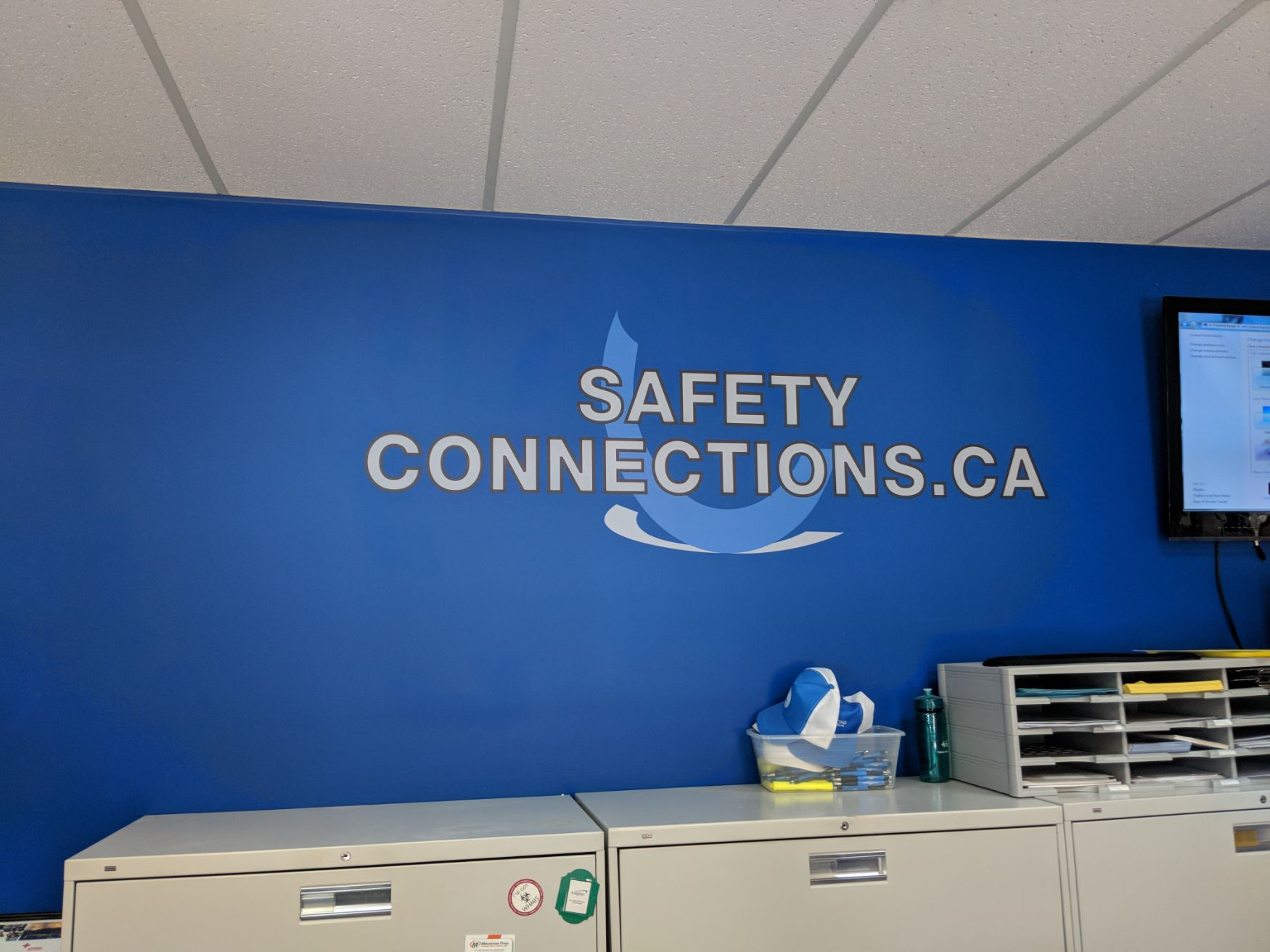 Safety connections signage