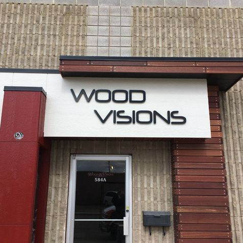 Wood visions Letter signage