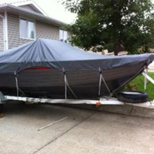 canvas boat cover