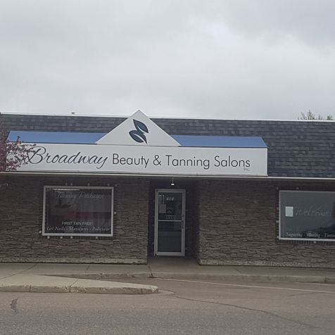 Broadway beauty and tanning salons