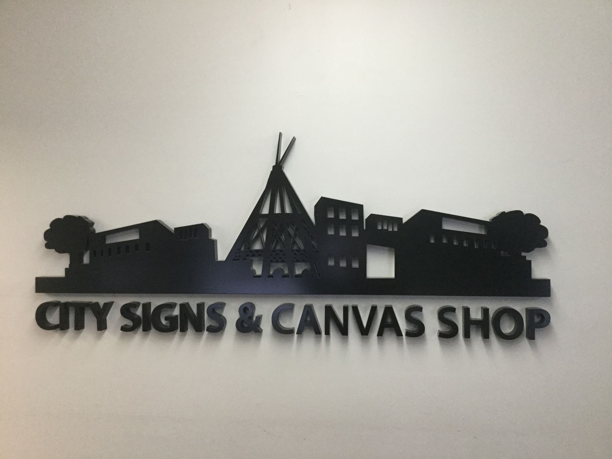 City signs & canvas shop Letter signage