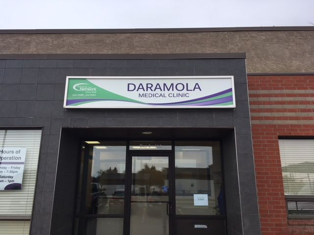 Daramola illuminated sign